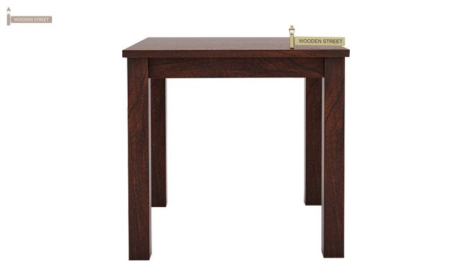 Janet 2 Seater Dining Table (Walnut Finish)-1