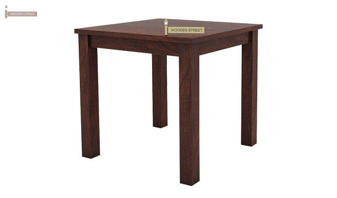 Janet 2 Seater Dining Set (Walnut Finish)-4