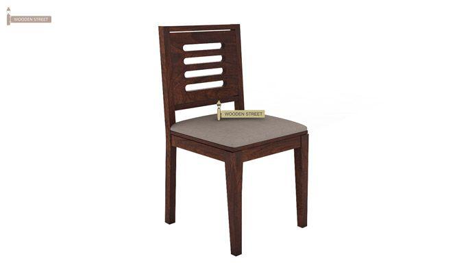 Janet 2 Seater Dining Set (Walnut Finish)-6