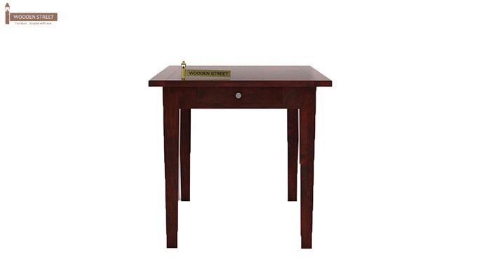 Mcbeth Storage 2 Seater Dining Table Set (Mahogany Finish)-3