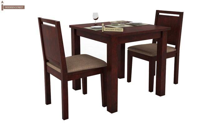 Orson 2 Seater Dining Set (Mahogany Finish)-2