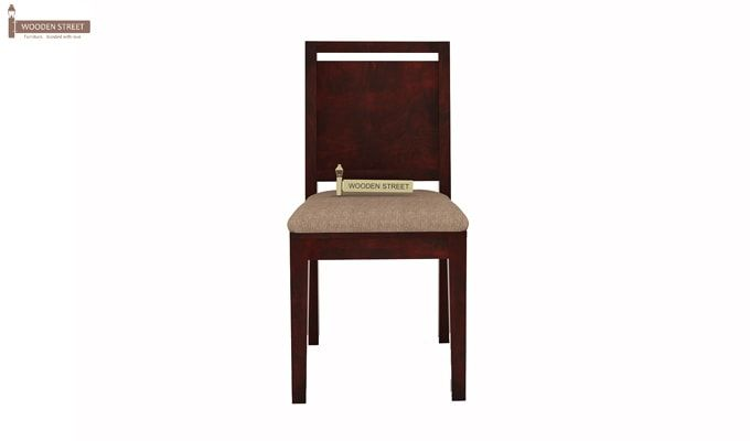 Orson 2 Seater Dining Set (Mahogany Finish)-5
