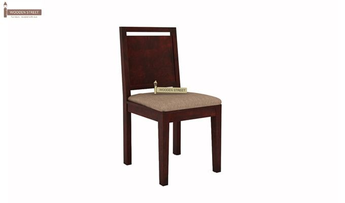 Orson 2 Seater Dining Set (Mahogany Finish)-6