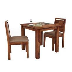 Orson 2 Seater Dining Set (Teak Finish)