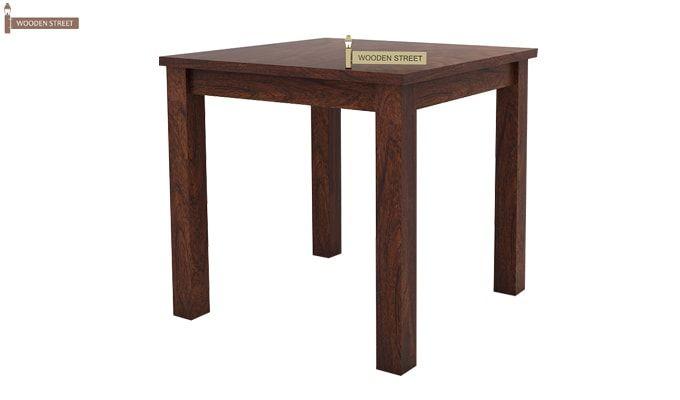 Orson 2 Seater Dining Set (Walnut Finish)-3