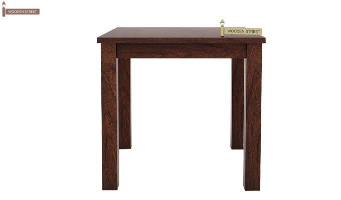 Orson 2 Seater Dining Set (Walnut Finish)-4