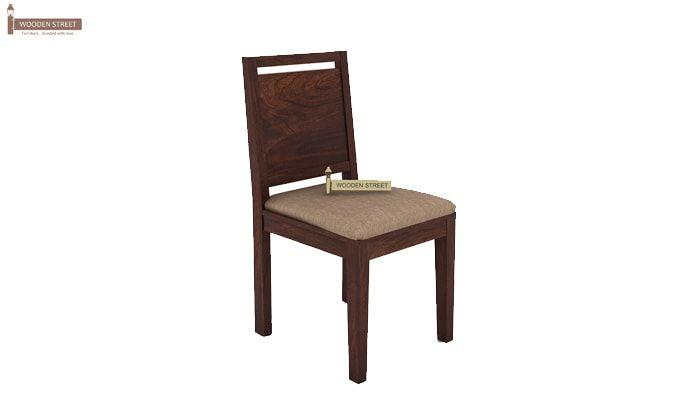 Orson 2 Seater Dining Set (Walnut Finish)-6