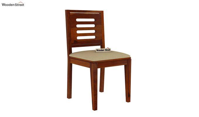 Paul 2 Seater Dining Set (Honey Finish)-13