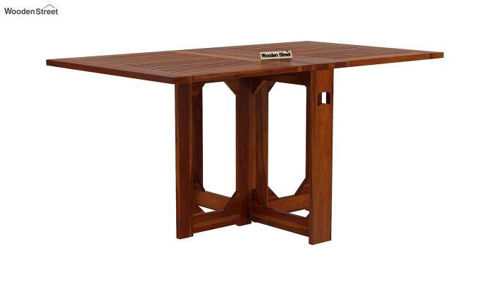 Paul 2 Seater Dining Set (Honey Finish)-6