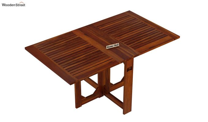 Paul 2 Seater Dining Set (Honey Finish)-8