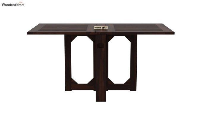 Paul 2 Seater Dining Set (Walnut Finish)-5