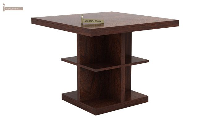 Ralph 2 Seater Dining Set with Storage (Walnut Finish)-3