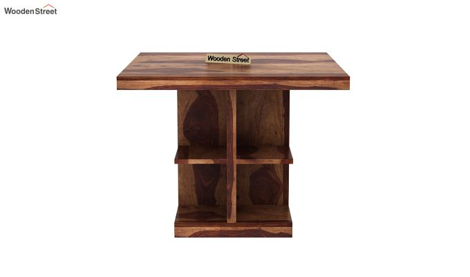 Ralph 2 Seater Dining Set with Storage (Teak Finish)-5