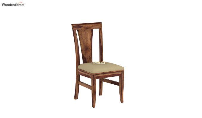 Ralph 4 Seater Dining Set with Storage (Teak Finish)-5
