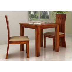 Terex 2 Seater Dining Set (Honey Finish)