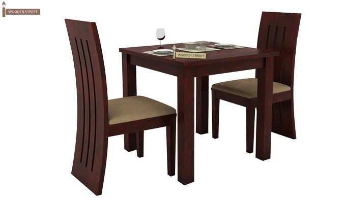 Terex 2 Seater Dining Set (Mahogany Finish)-2