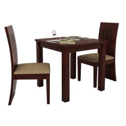 Terex 2 Seater Dining Set (Mahogany Finish)