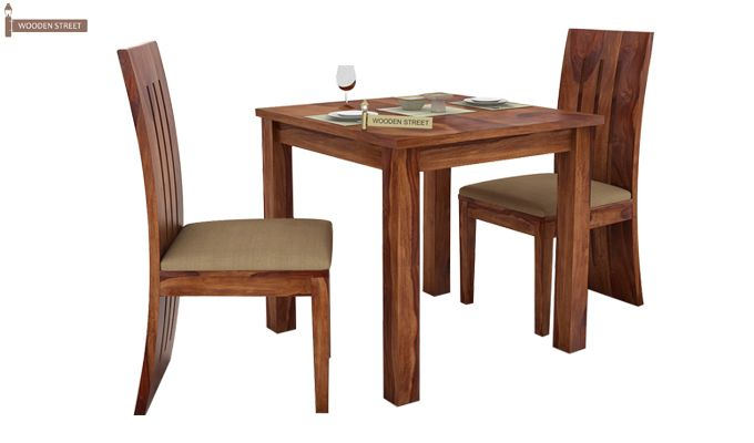 Terex 2 Seater Dining Set (Teak Finish)-1