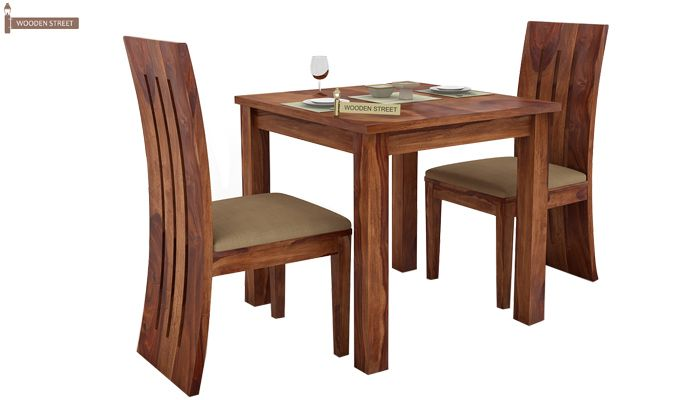 Terex 2 Seater Dining Set (Teak Finish)-2