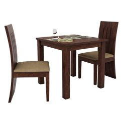 Terex 2 Seater Dining Set (Walnut Finish)