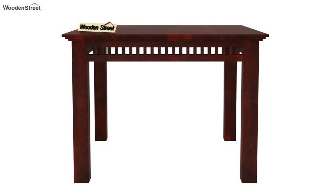 Adolph 4 Seater Dining Set (Mahogany Finish)-4