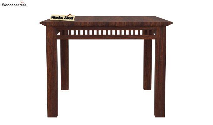 Adolph 4 Seater Dining Set (Walnut Finish)-4