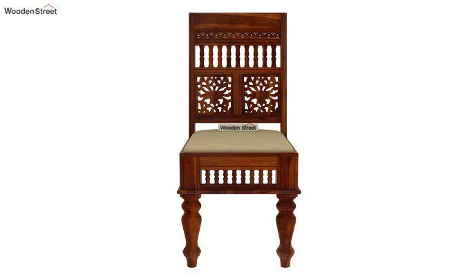 Alanis 4 Seater Dining Set (Honey Finish)-5