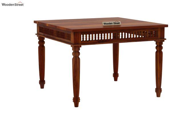 Alanis 4 Seater Dining Set (Honey Finish)-6