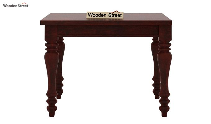 Amora 4 Seater Dining Table Set (Mahogany Finish)-4