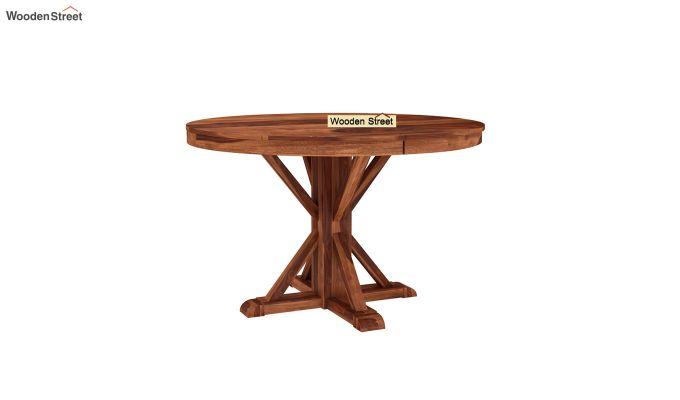 Ashford 4 Seater Dining Table Set (Honey Finish)-6