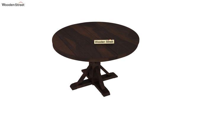 Ashford 4 Seater Dining Table Set (Walnut Finish)-7