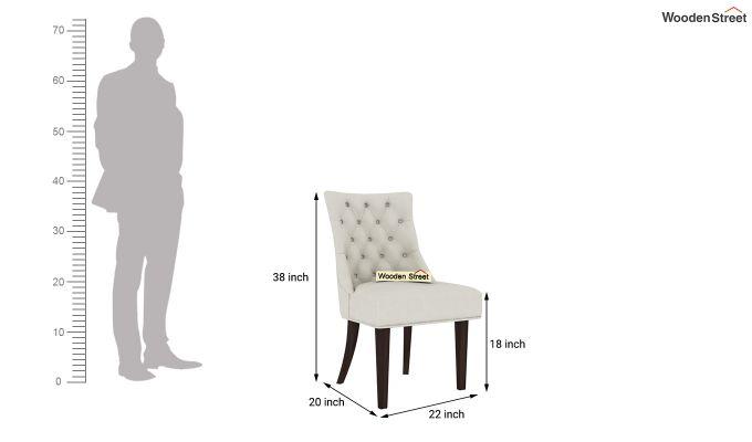 Ashford 4 Seater Dining Table Set (Walnut Finish)-9
