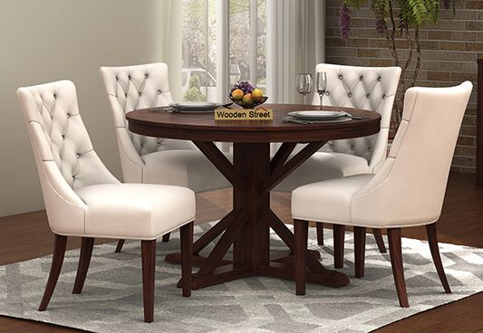 Attrayant Round Dining Table 4 Seater