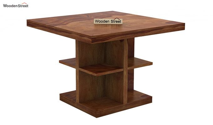 Bolton 4 Seater Dinning Set (Teak Finish)-3