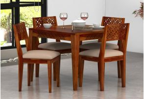 Merveilleux 4 Seater Dining Table Set Online India