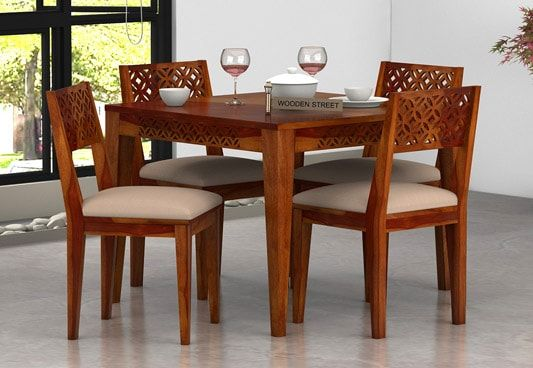 4 seater dining table buy 4 seater dining table set for Dining table set deals