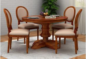 Round Dining Table Buy Round Dining Table Set Online At Low Price