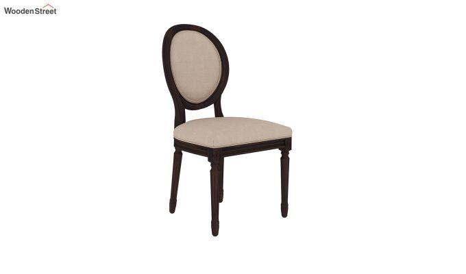 Clark 4 Seater Square Dining Set (Walnut Finish)-8