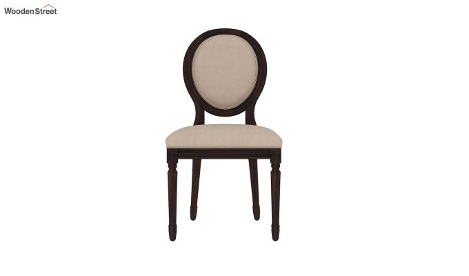 Clark 4 Seater Square Dining Set (Walnut Finish)-9