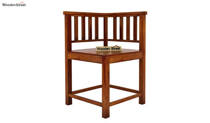 Cohoon 4 Seater Dining Set (Honey Finish)-7