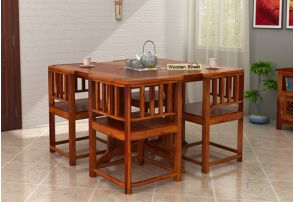 4 Seater Dining Table Set Online Ping India
