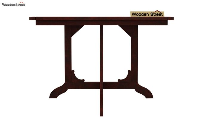 Cohoon 4 Seater Dining Set (Mahogany Finish)-4