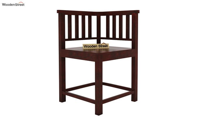 Cohoon 4 Seater Dining Set (Mahogany Finish)-6