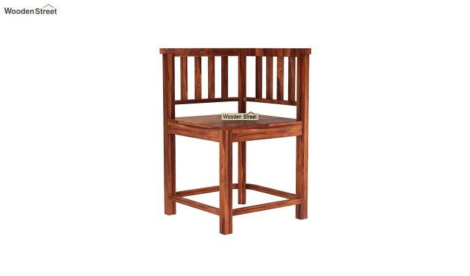 Cohoon 4 Seater Dining Set (Honey Finish)-8