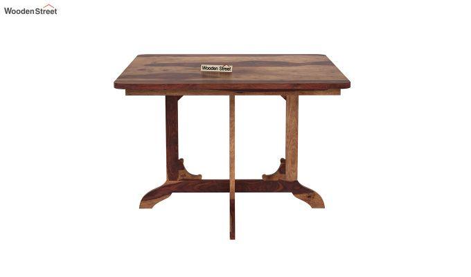 Cohoon 4 Seater Dining Set (Teak Finish)-7