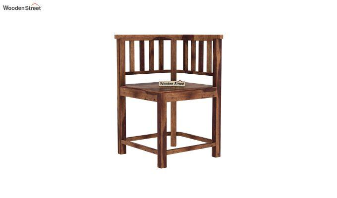 Cohoon 4 Seater Dining Set (Teak Finish)-8