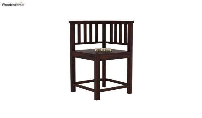 Cohoon 4 Seater Dining Set (Walnut Finish)-8
