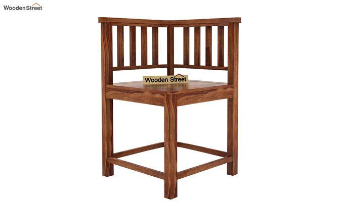 Cohoon 4 Seater Dining Set (Teak Finish)-6