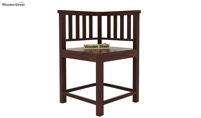 Cohoon 4 Seater Dining Set (Walnut Finish)-6