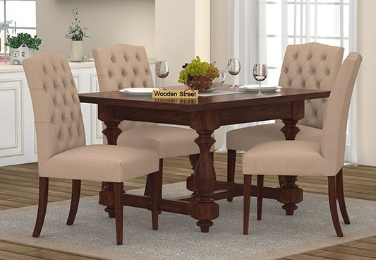 compact 4 seater dining table online